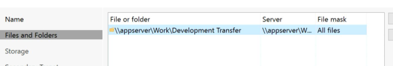 add-file-share-folder-list