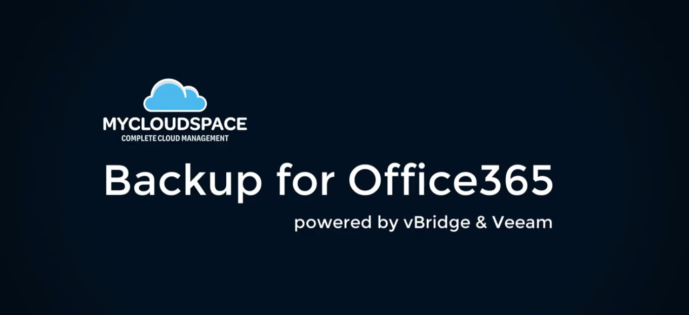 Backup for Office365 with VBO