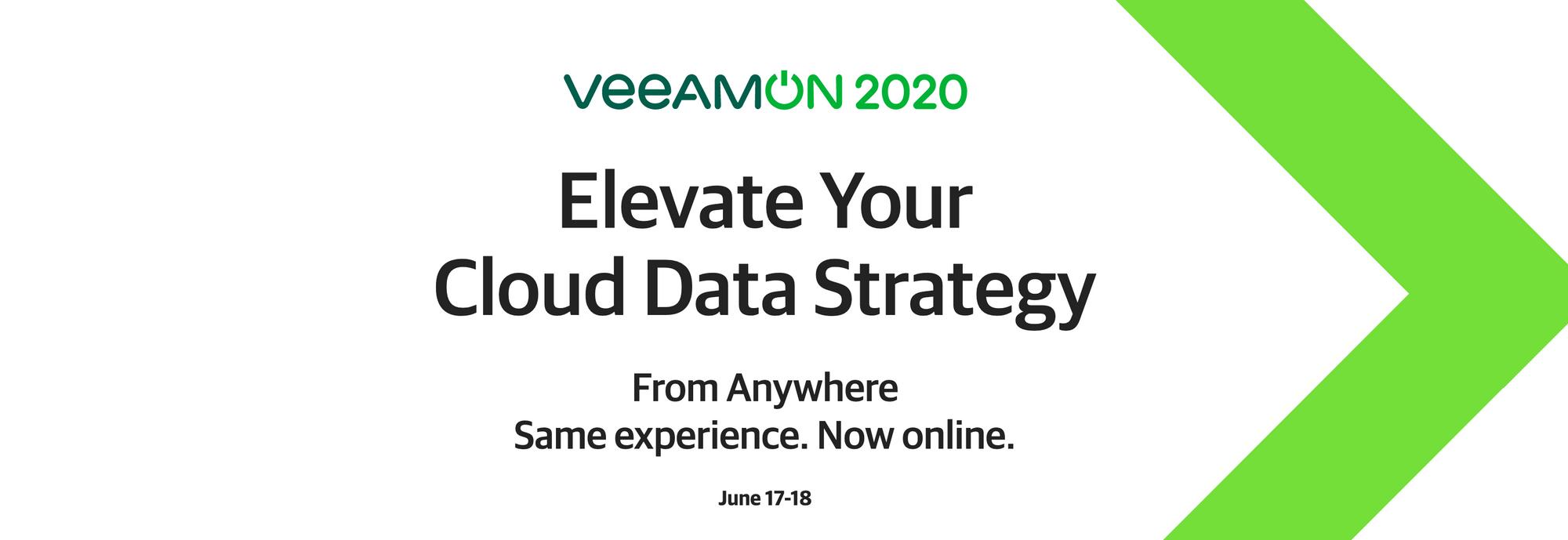 VeeamON 2020 Agenda Speakers and Sessions