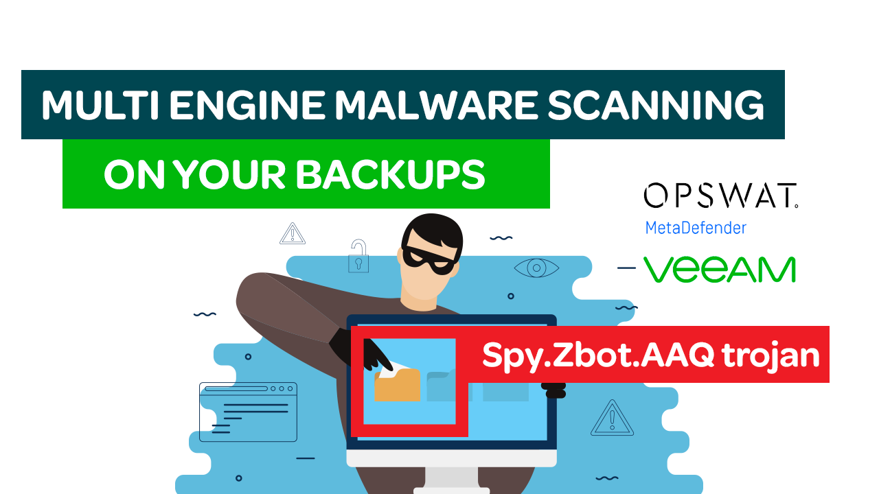 Multi Engine Malware Scanning on your Backup Data? Veeam Data Integration API makes it possible with MetaDefender Cloud