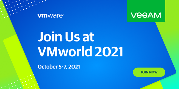 Veeam Sessions at VMworld 2021 (and plant a tree!)
