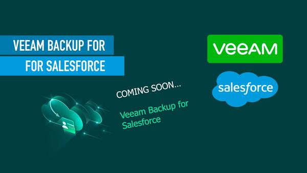 Salesforce Backup with Veeam